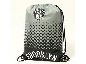 Brooklyn-Nets-Fan-Gymbag-NBA-Turnbeutel-silbergrau-Sportbeutel-45x35cm
