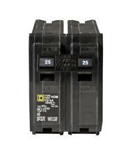 Square D Homeline 2 Pole 25 Amp Hom225 Hom225c 120240 V Circuit Breaker