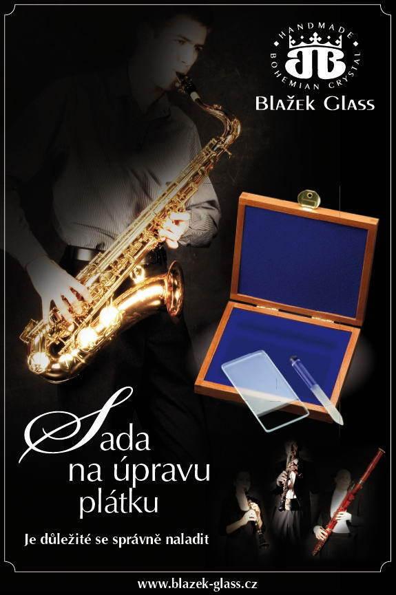 The Reed Resurfacer Set da Blazek di Vetro in Repubblica Ceca con Hard Wood Case