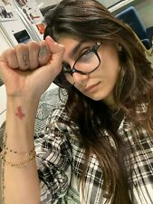 THE INFAMOUS MIA KHALIFA GLASSES AUCTION TO 100% BENEFIT LEBANESE RED CROSS