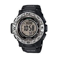New In Box Casio Protrek Tough Solar Triple Sensor Atomic Watch PRW3500-1