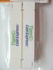 HO SCALE 53/' THERMO KING FRESH EXPRESS  CONTAINERS NEW CON-COR 2 EA