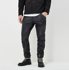 G-Star Raw 5620 Mens Black 3d Tapered Painted Jeans 31x34