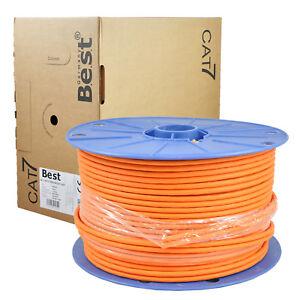 100-m-CAT-7-Verlegekabel-Duplex-Netzwerkkabel-Kupfer-LAN-1000Mhz-S-FTP6-BEST-Cat