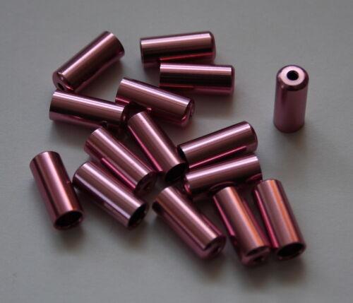 4 Erdmann ALU-extrémités rose pour 4 mm wellen enveloppes