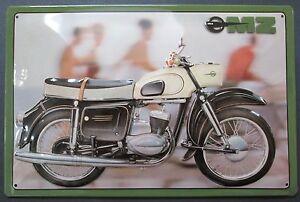 MZ, Motorrad, DDR, BLECHSCHILD