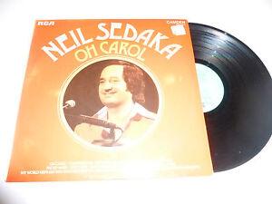 NEIL-SEDAKA-Oh-Carol-1970s-UK-RCA-Camden-label-12-track-vinyl-compilation-LP