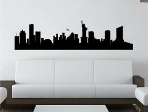 Skyline-New-York-city-wall-sticker-New-York-Wall-Decal