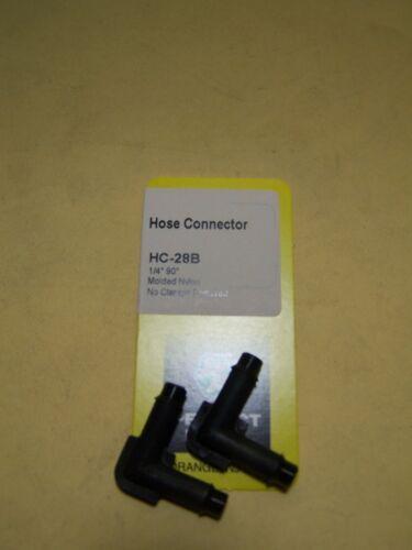 "Vacuum Line 90 degree connector 1//4/"" x 1//4/"""