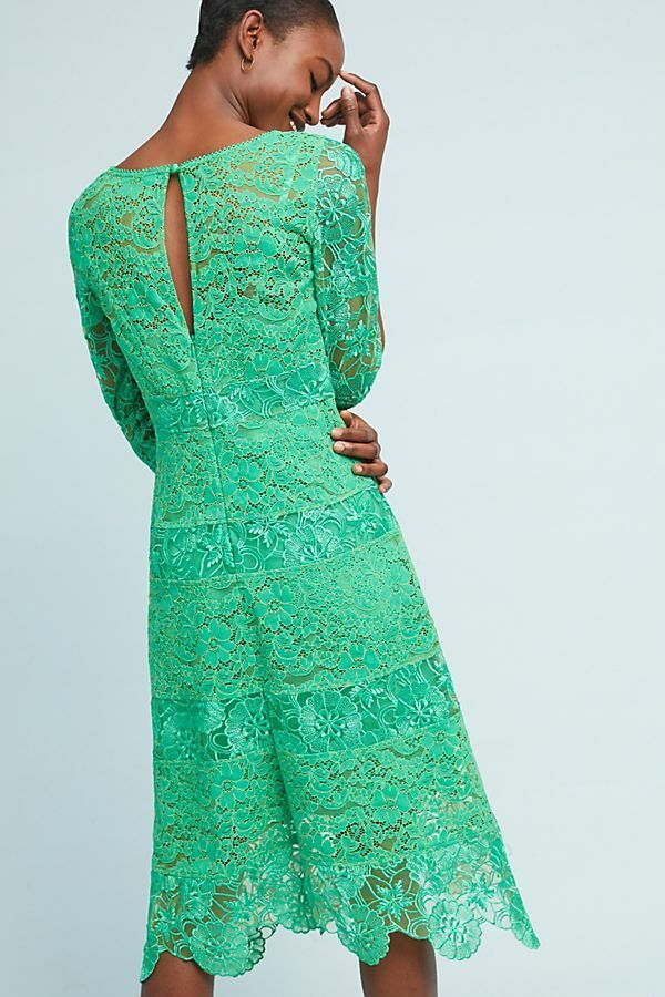 NWT SZ 4 Angelica Lace Midi Dress By Tracy Reese Reese Reese 747096