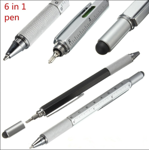 Creative-Multifunction-Ball-point-Pen-Level-Caliper-Screwdriver-Multi