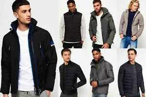 New-Mens-Superdry-Jackets-Selection-Various-Styles-amp-Colours-081020181