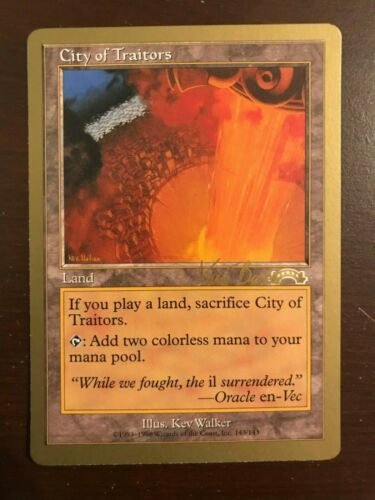 Magic the Gathering MTG CITY OF TRAITORS GB x1 NM Many available
