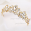 Bridal-Princess-Party-Crystal-Tiara-Wedding-Crown-Veil-Hair-Accessory-Headband thumbnail 17