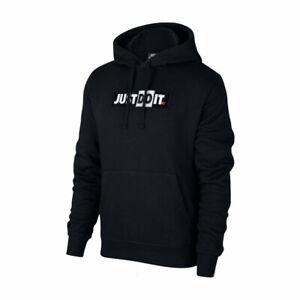Nike-Just-Do-It-Hoodie-Felpa-Uomo-CJ4775-010-Black