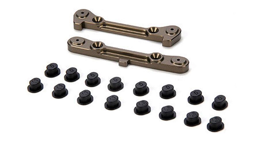 nuovo Losi 8ight 3.0 8ight 2.0 Adjustable Rear  Hinge Pin Brace w Inserts LOSA1755  memorizzare