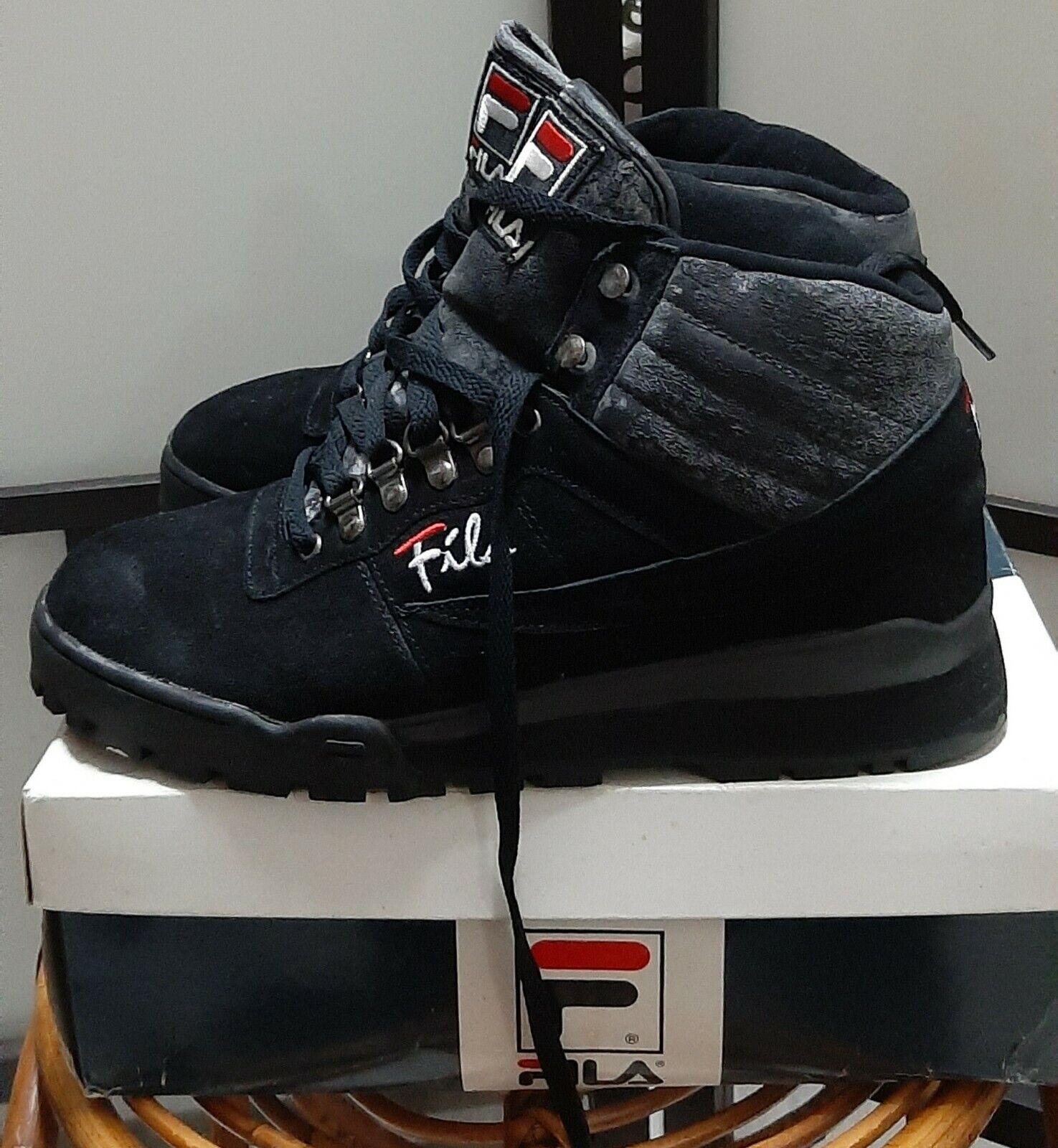 90s fila fitness hiker original shoes sneakers deadstock vintage retro