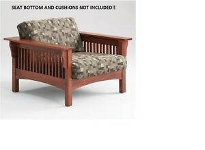 Image Is Loading SOLID HONEY OAK MISSION CHAIR BY ADDEN FURNITURE