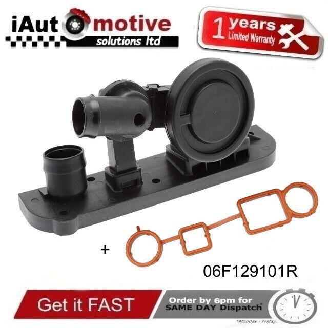 Válvula De Respiradero PCV & Junta Sello AUDI A3 2.0 TFSI TT VW Mk5 Mk6 GOLF OEM Calidad