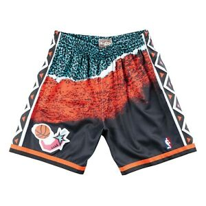 7ed927a28d8 Mitchell   Ness Black NBA All Star East 1996 Sublimated Swingman ...