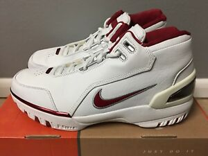 720676e6d408 Nike Air Zoom Generation LeBron James 2003 SZ 10 Deadstock White ...