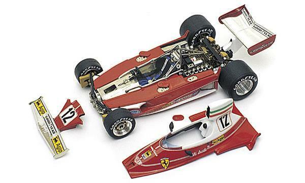Kit FERRARI 312 T F1 GP MONACO 1975 1°N.LAUDA - CAMPIONE DEL MONDO TAMEO WCT75