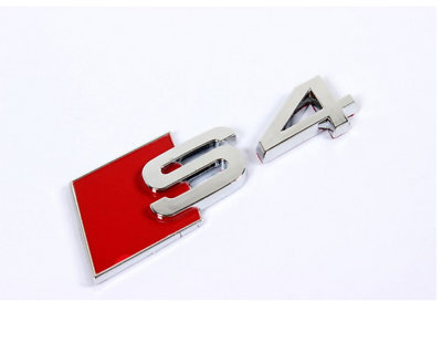 chrome A7 BADGE Fit Audi Rear Back Trunk Emblem Nameplate 2016 2017 2018