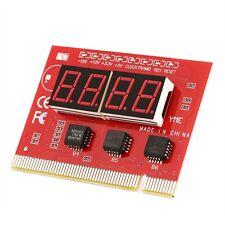 LED 4 cifre Analysis dispositivo diagnostico POST CARD PCI PC Analyzer SCHEDA MADRE