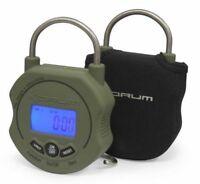 Korum Digital Scales Free Case + Battery Max 85lb Free Dvd