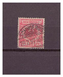Empire-Allemand-Minr-47-Kgs-Schwiebus-wiebodzin-28-02-1897