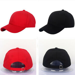 d615ccdc Image is loading Mens-Womens-Strapback-Hats-Unisex-Adjustable-Baseball-Cap-