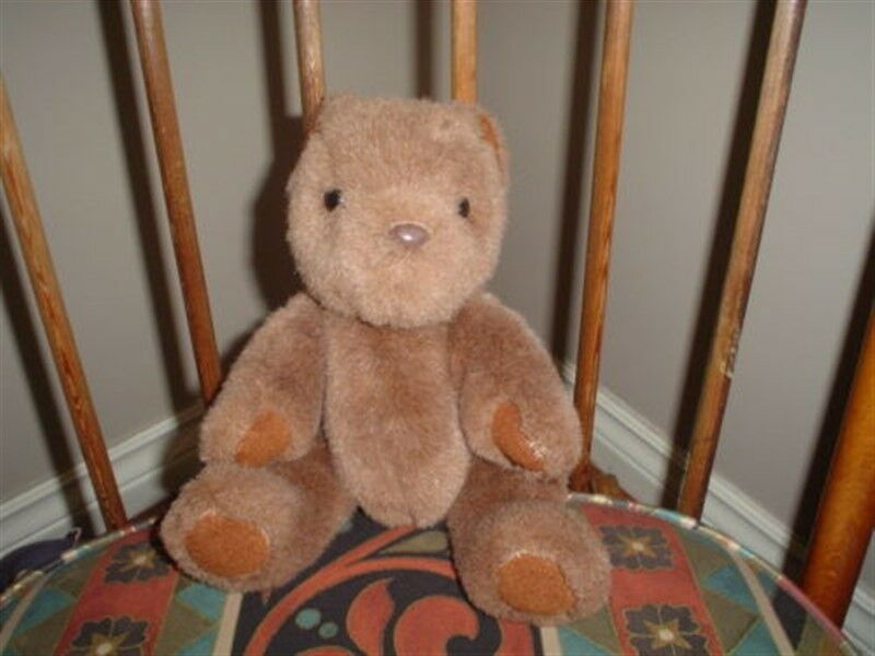Ganz Teddy Bear marrone Plush The Heritage Collection Fully Jointed 11 inch 1991