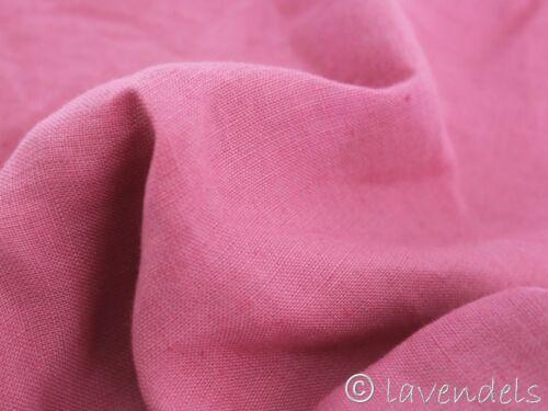 0,5 m Stoff Leinen ♥  aussee dunkelrosa ♥ rosa Trachtenstoff leicht 170 g//m2