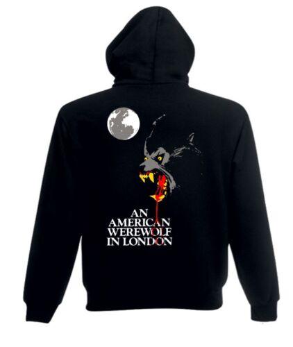 Un loup-garou américain à LONDRES Film d/'Horreur T Shirt//Sweat à capuche