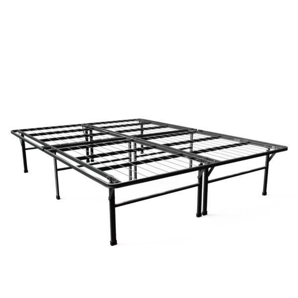 zinus smartbase deluxe mattress 16 inch ebay. Black Bedroom Furniture Sets. Home Design Ideas