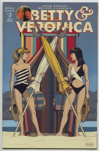 Betty /& Veronica 3 E Archie 2017 NM Paolo Rivera Variant Swimsuit Bikini GGA