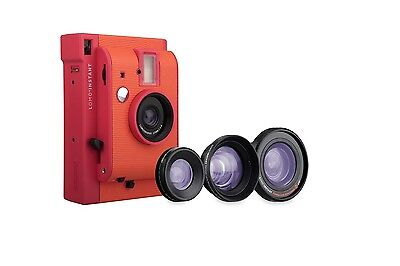 Lomography Lomo'Instant Marrakesh Edition + 3 Lenses Instant Film Camera Flash