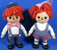 Raggedy Ann & Andy Vintage Coin Bank Dolls Royalty Industries Inc.1974