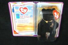 McDonalds TY The End the Bear Gold Bow Wording Firework Collectibles