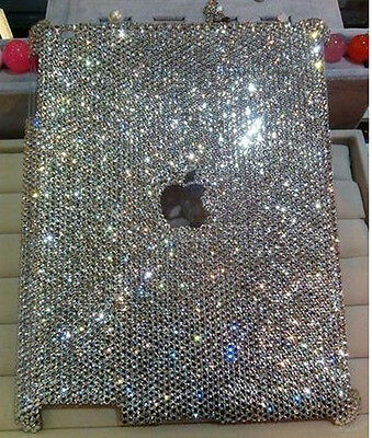 New Luxury Handmade Bling Crystal Case Cover for Apple ipad Air 5 5th + Pen HD05