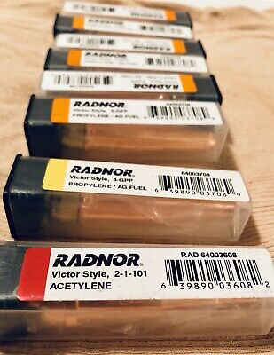 Lot of 2 Radnor 64002382 Standard Tip Cleaner Set AG650C ** Free Shipping