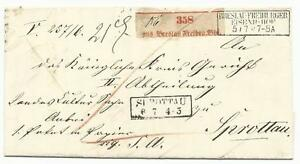 Altdeutschland-Preussen-Paketbegleitbrief-datiert-von-BRESLAU-FREIBURG-1861