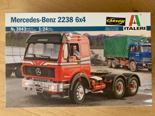 Italeri 1:24 Mercedes-Benz 2238 6x4 3943 ++