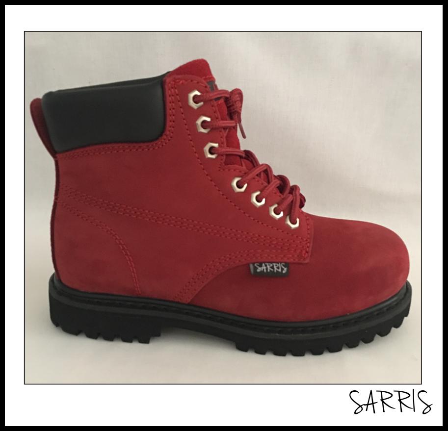 Tobillo botas De Seguridad Alta Con Cordones botas Cuero Cuero Cuero Trabajo steelcap  nueva marca