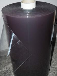PVC Folie glasklar 0,8mm, Cabrio, Garden fenster, transparent 140cm
