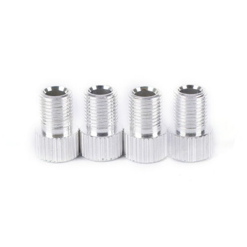 4pcs Aluminum Alloy Presta to Shrader Bicycle Bike Valve Adapter Converter InHQ