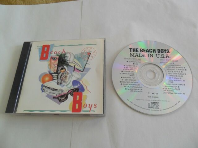 The Beach Boys - Made In U.S.A. (CD) Canada Pressing