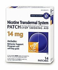 Habitrol Step 2 Nicotine Patch Transdermal System 14mg 14 Patches