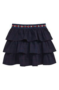 Scatch-And-Soda-R-039-belle-Ruffle-Skirt-Girls-Size-14-Navy-Blue-90