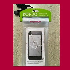 Korjo Waterproof Phone Pouch Smart Phones Dry Seal Bag-Samsung,iP<wbr/>hone 6,7,8 Plus